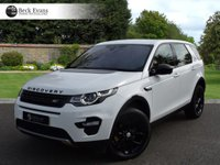 USED 2018 18 LAND ROVER DISCOVERY SPORT 2.0 TD4 HSE 5d AUTO 180 BHP 2018 MODEL YEAR VAT QUALIFYING VAT QUALIFYING  BLACK PACK