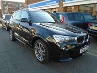 2015 BMW X3 2.0 XDRIVE20D M SPORT 5d AUTO 188 BHP £20994.00