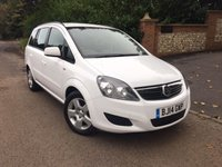 2014 VAUXHALL ZAFIRA 1.8 EXCLUSIV 5d 120 BHP PLEASE CALL TO VIEW £7450.00