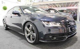 2014 AUDI A7 3.0 TDI QUATTRO S LINE BLACK EDITION 5d AUTO 313 BHP £24955.00
