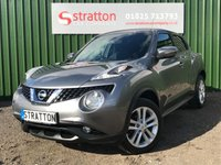 USED 2014 14 NISSAN JUKE 1.5 ACENTA PREMIUM DCI 5d 110 BHP High Quality hand picked cars by Stratton Car Company Uckfield Sussex - 01825 713 793