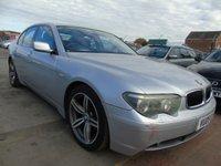 2005 BMW 7 SERIES 3.0 730D SPORT AUTO SERVICE HISTORY  £3395.00