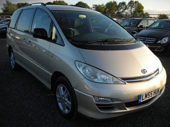 View our TOYOTA PREVIA