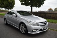 USED 2010 10 MERCEDES-BENZ E CLASS 3.0 E350 CDI BLUEEFFICIENCY SPORT 2d COUPE AUTO 231 BHP SERVICE HISTORY, SPORTS LEATHER HEATED SEATS, CRUISE CONTROL, BARGAIN