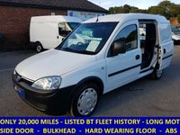 2007 VAUXHALL COMBO ONLY 20,000 MILES DIRECT FROM BT FLEET £3495.00