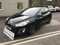 USED 2011 11 PEUGEOT 308 1.6 THP GT 5d 200 BHP **STUNNING**F.S.H**LOW MILEAGE**PANORAMIC SUNROOF**