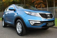 USED 2013 13 KIA SPORTAGE 1.6 1 5d 133 BHP ONLY ONE OWNER FROM NEW WITH KIA DEALER SERVICE HISTORY!!!
