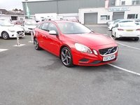 2012 VOLVO V60 1.6 DRIVE R-DESIGN S/S 5d 113 BHP £SOLD