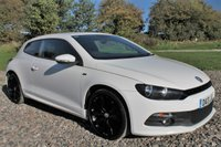 2013 VOLKSWAGEN SCIROCCO 2.0 R LINE TDI DSG 2d AUTO 175 BHP £12495.00