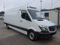 USED 2014 64 MERCEDES-BENZ SPRINTER 313 CDI LWB HI ROOF CHILLER WITH STANDBY, 130 BHP [EURO 5], 1 COMPANY OWNER