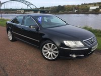 USED 2009 09 VOLKSWAGEN PHAETON 3.0 V6 TDI 4MOTION 4d 240 BHP **COLOUR TV WITH FREEVIEW**