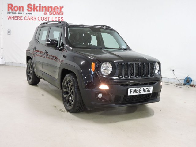 View our 2016 66 JEEP RENEGADE 1.6 M-JET DAWN OF JUSTICE 5d 118 BHP