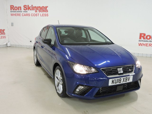 View our 2018 18 SEAT IBIZA 1.0 TSI FR 5d 114 BHP