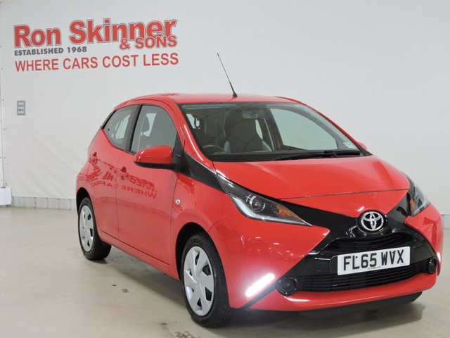 View our 2015 65 TOYOTA AYGO 1.0 VVT-I X-PLAY 5d 69 BHP