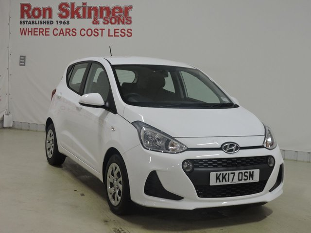 View our 2017 17 HYUNDAI I10 (85) 1.0 SE 5d 65 BHP