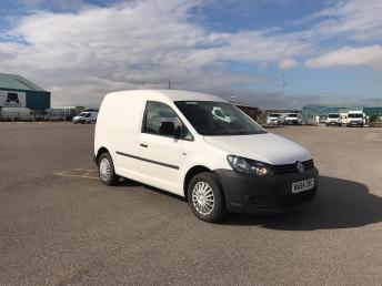 2014 VOLKSWAGEN CADDY}