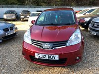 2012 NISSAN NOTE 1.6 N-TEC PLUS 5d 110 BHP £5000.00