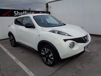 USED 2014 63 NISSAN JUKE 1.6 N-TEC 5d 115 BHP £176 A MONTH REVERSE CAMERA SATELLITE NAVIGATION CRUISE CONTROL CLIMATE CONTROL FULL DEALER SERVICE HISTORY MOT OCTOBER 2019