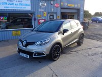 USED 2014 14 RENAULT CAPTUR 1.5 DYNAMIQUE MEDIANAV ENERGY DCI S/S 5d 90 BHP 1 OWNER FROM NEW  FULL RENAULT SERVICE HISTORY SAT NAV