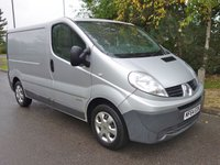 2014 RENAULT TRAFIC 2.0 SL27 DCI S/R P/V EXTRA 1d 115 BHP £4490.00