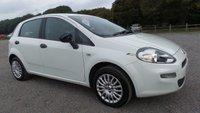 2013 FIAT PUNTO 1.2 POP 5d 69 BHP £3500.00