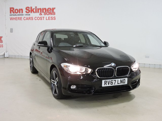 View our 2017 67 BMW 1 SERIES 1.5 116D SPORT 5d AUTO 114 BHP