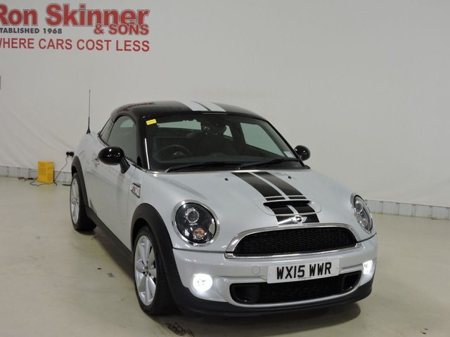 View our 2015 15 MINI COUPE 2.0 COOPER SD 2d 141 BHP