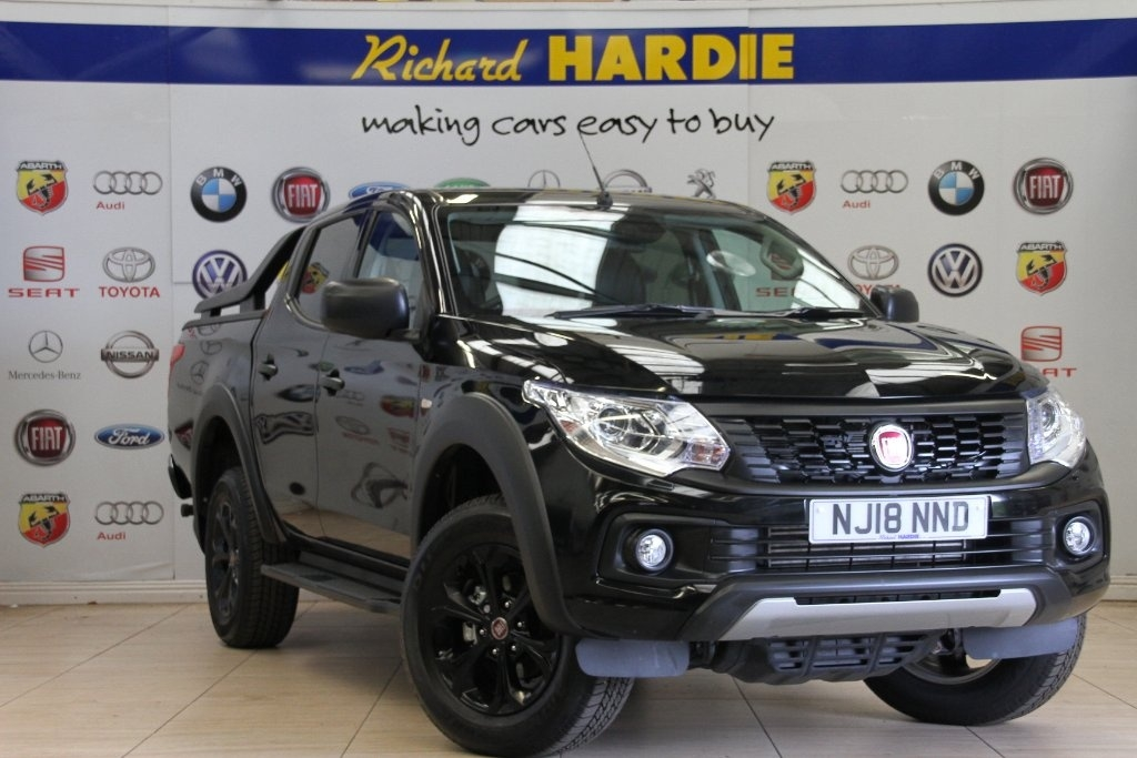 View our 2018 18 FIAT FULLBACK 2.4 JTD SX Double Cab Pickup 4WD 4dr (EU6)