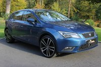 USED 2014 14 SEAT LEON 1.6 TDI SE TECHNOLOGY 5d 105 BHP AIR CON - PARKING SENSORS