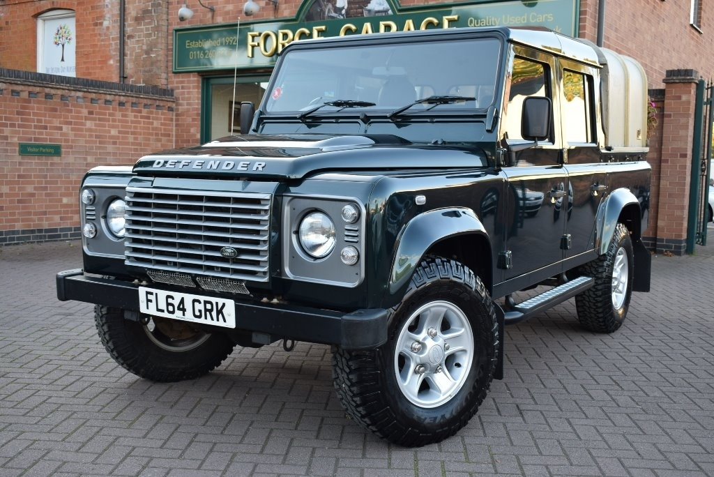 View our 2014 64 LAND ROVER DEFENDER  110 2.2 D XS Crewcab Pickup 4dr