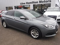 USED 2018 18 HYUNDAI I40 1.7 CRDI SE NAV BLUE DRIVE 4d 139 BHP CAMERA, CRUISE BLUETOOTH