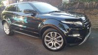 USED 2011 61 LAND ROVER RANGE ROVER EVOQUE 2.2 SD4 DYNAMIC 3d AUTO