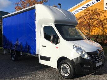 2015 RENAULT TRUCKS MASTER 2.3 135.35DCi L3 CURTAIN SIDER VAN,A/CON+CRUISE £14950.00
