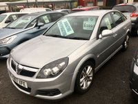 "USED 2007 07 VAUXHALL VECTRA 1.8 VVT SRI 5d 140 BHP .A very rare low milage example of this highly prized family favorite,finished in 2 coat metalic star silver complemented with 5 twin spoke 17"" alloy wheels, This car comes with all the usual refinements including projector headlamps elec windows all round ,central locking electric mirrors plus all the usual refinements ,This car was took in px off the last previous keeper who has had the vehicle from 2010 ,it comes with 3 months parts and labour warranty as standard and can be extended ."