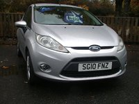 USED 2010 10 FORD FIESTA 1.2 ZETEC 3d 81 BHP AT OUR TWEEDBANK SITE