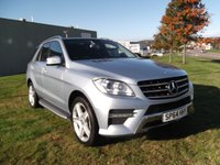 USED 2014 64 MERCEDES-BENZ M CLASS 3.0 ML350 BLUETEC AMG SPORT 5d AUTO 258 BHP 1 OWNER, FSH