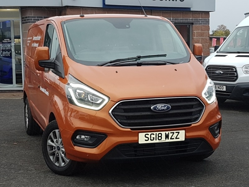View our 2018 18 FORD TRANSIT CUSTOM 2.0 280 LIMITED P/V L1 H1 1d 168 BHP