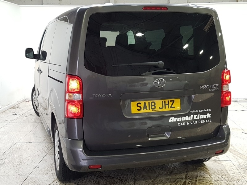 TOYOTA PROACE VERSO at Click Motors