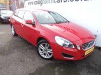 2012 VOLVO V60 2.4 D5 SE LUX 5d 202 BHP £10495.00