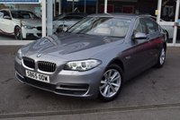 USED 2015 65 BMW 5 SERIES 2.0 520D SE 4d 188 BHP FINANCE TODAY WITH NO DEPOSIT