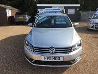 USED 2011 11 VOLKSWAGEN PASSAT 2.0 SE TDI BLUEMOTION TECHNOLOGY 5d 139 BHP FULLY AA INSPECTED - FINANCE AVAILABLE