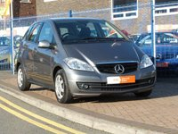 2010 MERCEDES-BENZ A CLASS 1.5 A160 BLUEEFFICIENCY SE 5d  £4495.00