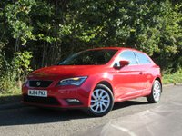 USED 2014 64 SEAT LEON 1.2 TSI SE TECH PACK SPORTSCOUPE  3d 105 BHP
