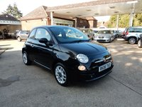USED 2008 08 FIAT 500 1.4 SPORT 3d 99 BHP LEATHER,AIR CON,BLUE AND ME,TWO KEYS,SERVICE HISTORY