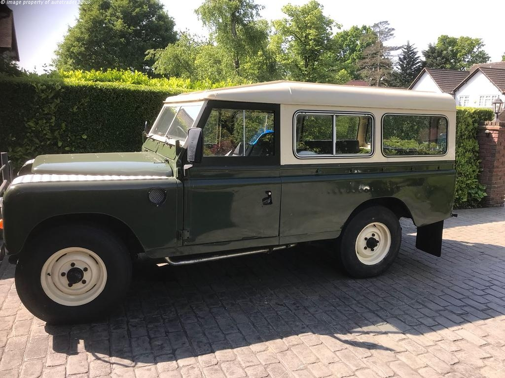 View our 1972 LAND ROVER 109 2.3 4 CYL 1d 59 BHP