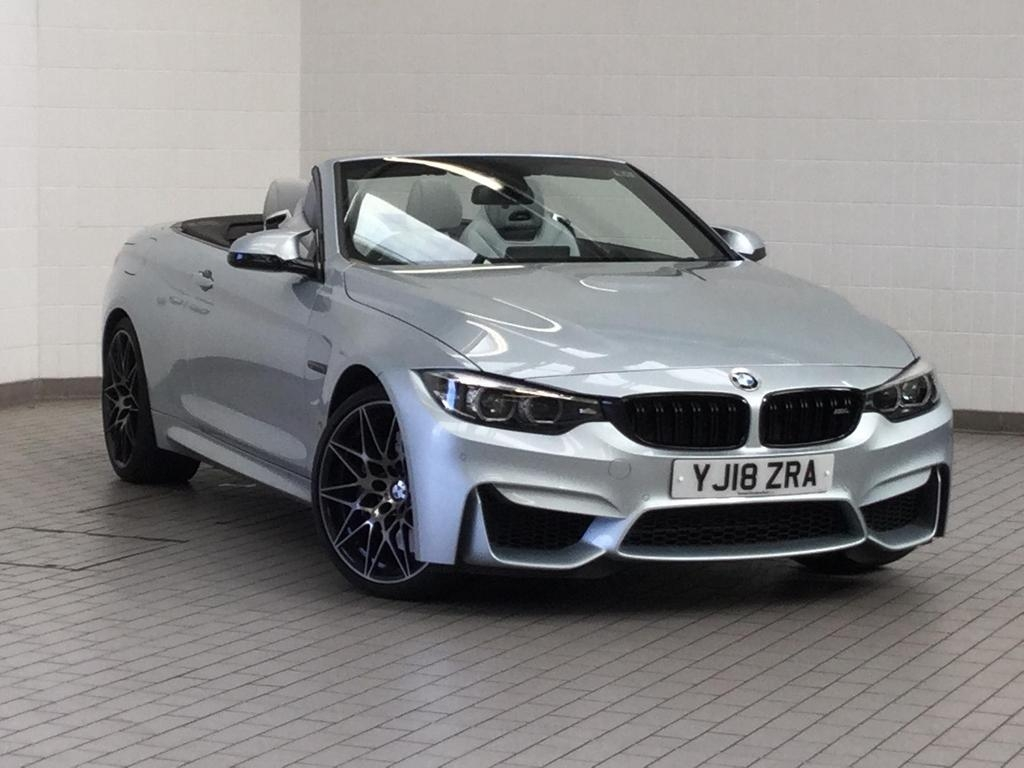 View our 2018 18 BMW 4 SERIES BMW M4 Series M4 Convertible Competition Package 3.0 2dr