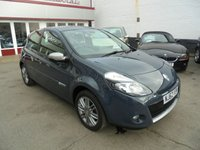 USED 2012 62 RENAULT CLIO 1.6 DYNAMIQUE TOMTOM VVT 3d AUTO 111 BHP