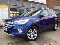 USED 2018 18 FORD KUGA 1.5 ZETEC 5d 148 BHP STUNNING CAR WITH FACTORY OPTIONS IN THE BEST COLOUR