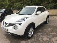 USED 2015 15 NISSAN JUKE 1.5 ACENTA PREMIUM DCI 5d 110 BHP £20 TAX, REVERSING CAMERA ONLY 1 FORMER KEEPER, £20 ROAD TAX, NAV / REV CAMERA