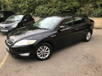 USED 2012 12 FORD MONDEO 1.6 ZETEC TDCI 5d 114 BHP REAR BOOT SPOILER £30 A YEAR TAX, 6 SERVICES ONLY 83K, BOOT SPOILER